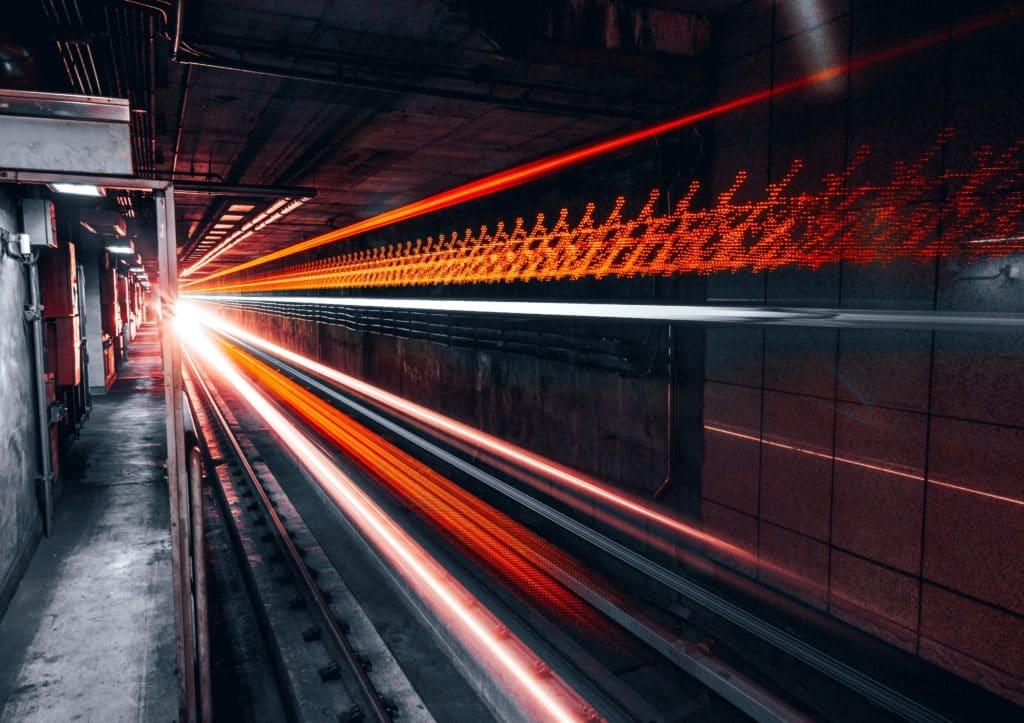 Underground-rail